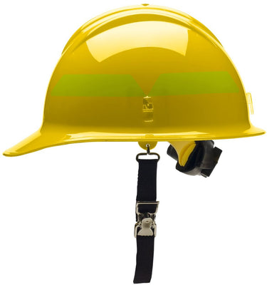 Cap Helmet with Ratchet Suspension, Bullard