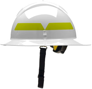 XL Full Brim Helmet with Ratchet Suspension, Bullard
