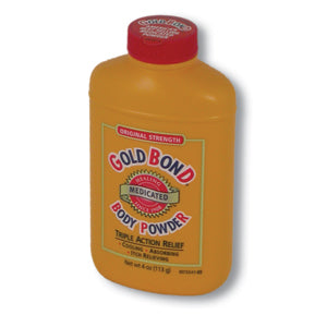 Medicated Powder-- 4 oz. , Gold Bond