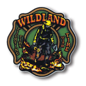Wildland - Fighting Fire With Fire Sticker