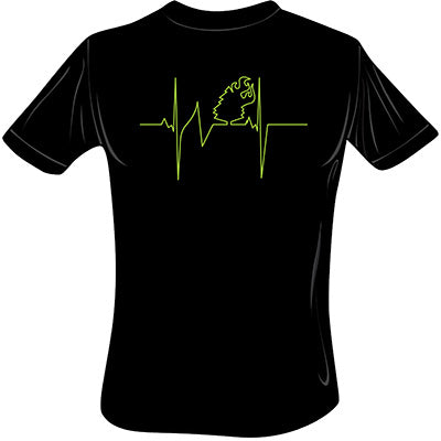 Heartbeat T-Shirt (Black)