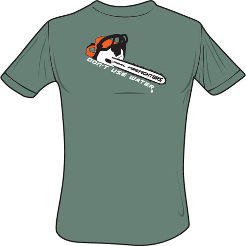 Chainsaw T-Shirt (Green), The Supply Cache