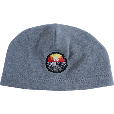 Student of Fire Fleece Beanie (Grey), The Supply Cache