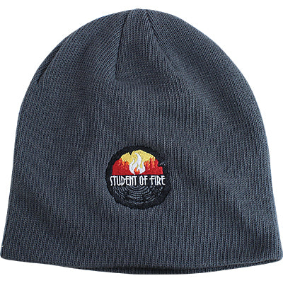 Student of Fire Beanie (Grey), The Supply Cache