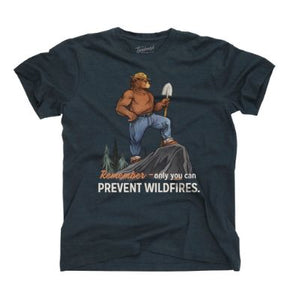 Only You Smokey Bear T-Shirt, The Landmark Project