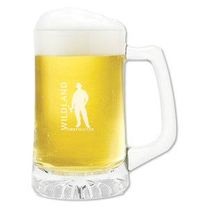 Wildland Firefighter Glass Mug (15 oz)