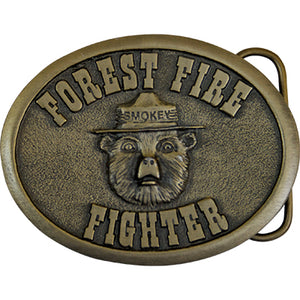 Belt Buckle- Forest Fire Fighter, Smokey Bear