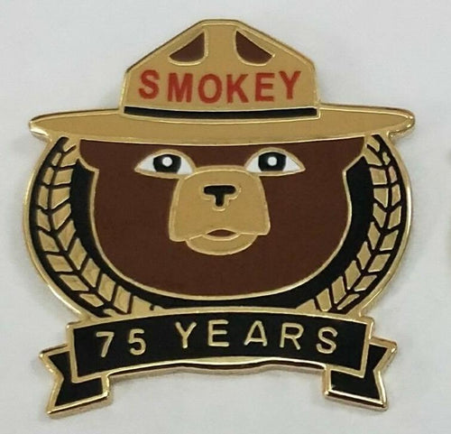 Year Pin- 2019, Smokey Bear