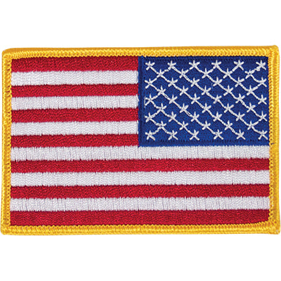 Patch- Reverse American Flag