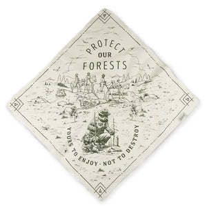Protect our Forests Bandana, The Landmark Project
