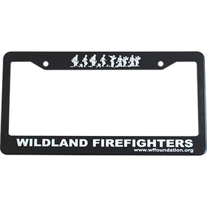 License Plate Frame, Wildland Firefighter Foundation