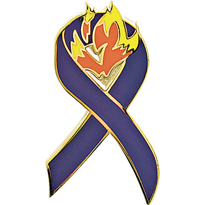Pin-Memorial Ribbon, Wildland Firefighter Foundation