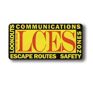 LCES Decals - 10 Pack, NFES 002397