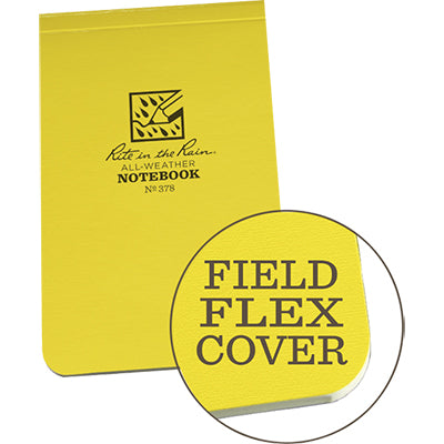Field Flex Top Bound Notebook (3.25 x 5.5) Rite in the Rain
