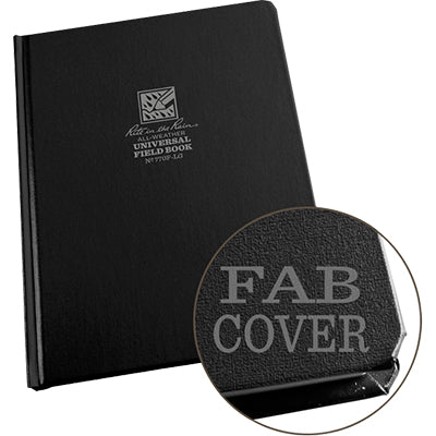 Large Fabrikoid Bound Notebook 6.75