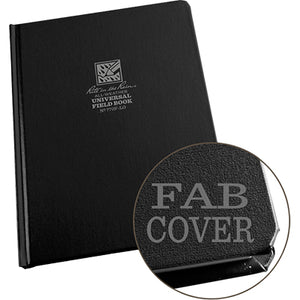 "Large Fabrikoid Bound Notebook 6.75""x8.75"", Rite in the Rain"