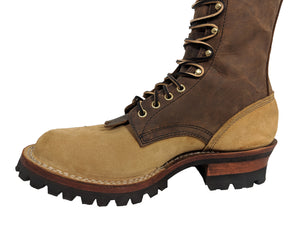 White's Roosevelt Tan and Brown Wildland Fire Leather Boot