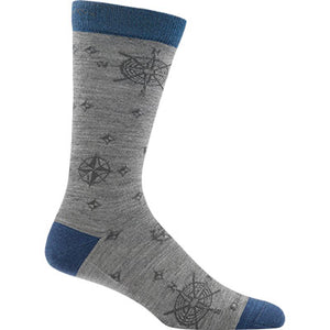 Compass Lightweight Merino Wool Crew Sock, Darn Tough
