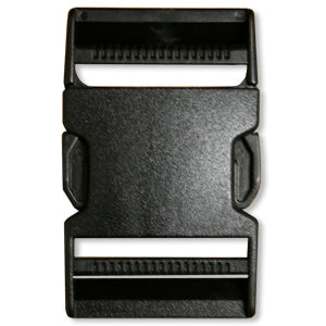 Dual Adjust/Side Release Buckle- 2-Inch