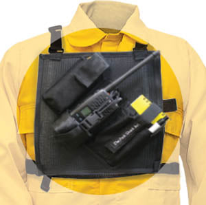 Radio Chest Pack Mesh, The Pack Shack