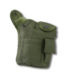 Canteen Cover- Nylon, Insulated, Military