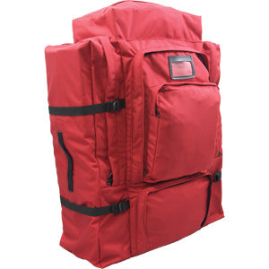 Red gear haul bag for all of your wildfire firefighter gear.