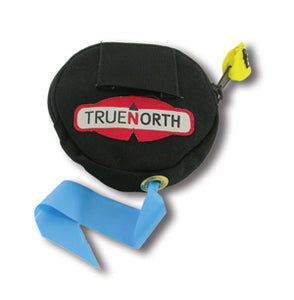 True North Flagging dispenser attachment for wildland fire bags, stackable