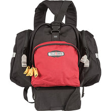 Front view of the black and red True North NFPA 1977 Wildland Fire Spitfire Pack