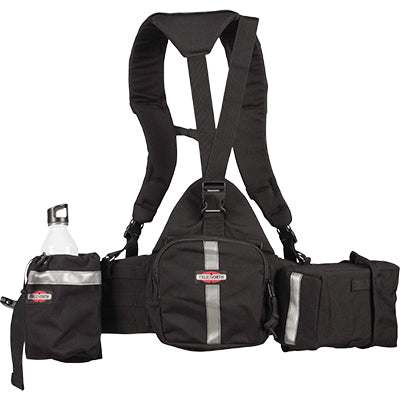 True North Spyder gear pack wildland fire pack NFPA 1977, Cal Fire PPE approved Black