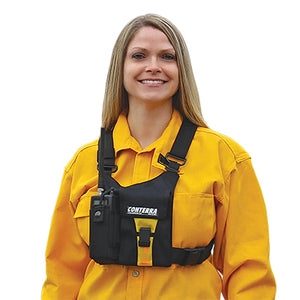 Adjusta Pro Diva (Cordura) Radio Chest Harness, Conterra