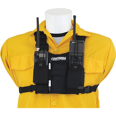 Double Adjusta Pro (Cordura) Radio Chest Harness, Conterra
