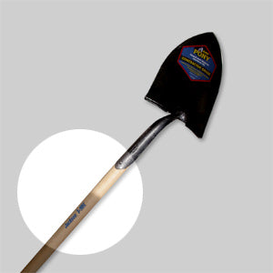 Replacement Handle- 46 inch Forest Fire Shovel by Pony