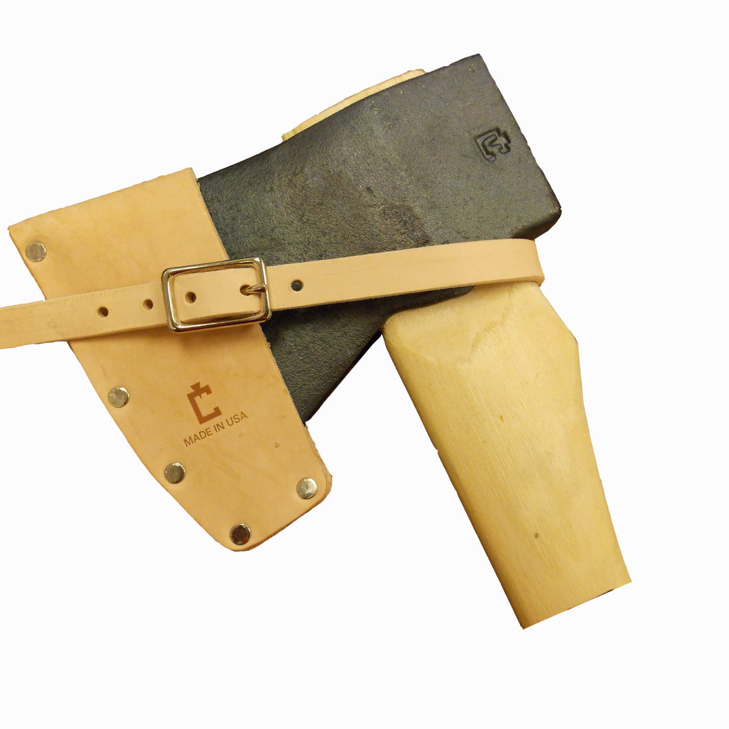 Miner's Axe Bit Guard- Leather, Council Tools