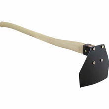 Ergonomic Handle JR Fire Tools Wildland fire hoe scraping tool for use on the fire line