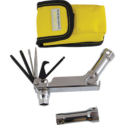 12 in 1 Pocket Tool (with Sheath), TopSaw