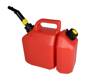 Split Fuel Container