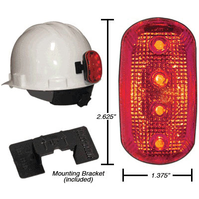 Hard Hat Safety Lite Kit (Red), Foxfire