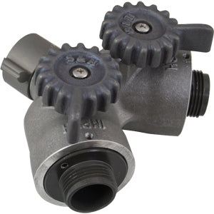 Wye Valve Short Handle 1 IN, S & H Products