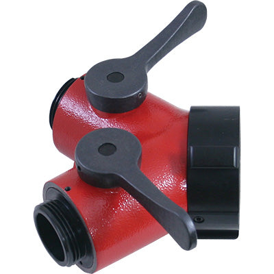 Wye Valve 2.5 NH x 1.5 NH, C & S Supply