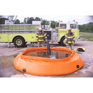 Self-Supporting Frameless Portable Water Tank, Fol-Da-Tank