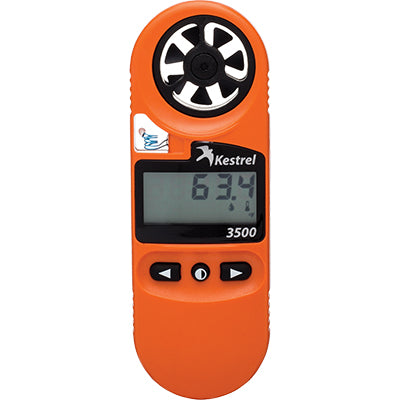 Kestrel fire weather meter for wildland fire gear.