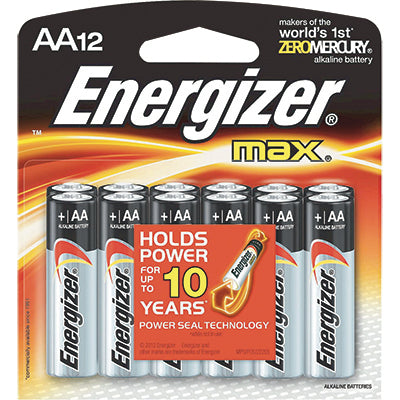 AA Energizer Max Batteries