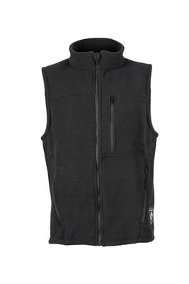 Alpha Vest-Nomex Fleece (Black), DragonWear