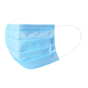 3 Ply Pleated Face Mask