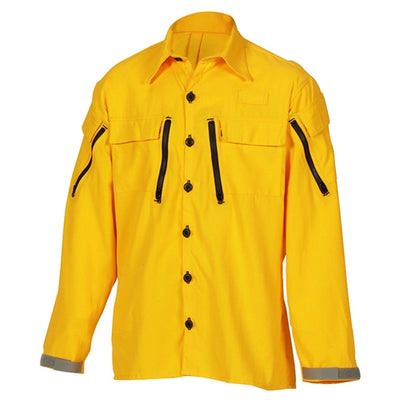 Tecasafe Plus 5.8 oz Cx Vent Brush Shirt (Yellow), Coaxsher
