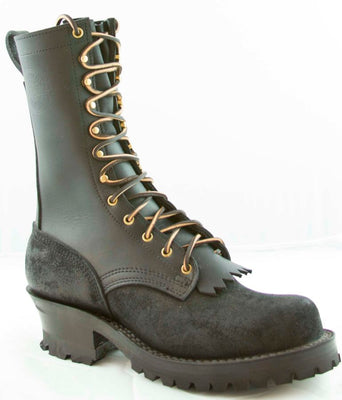 Type 1 Commander Boots - Black Rough Out (10