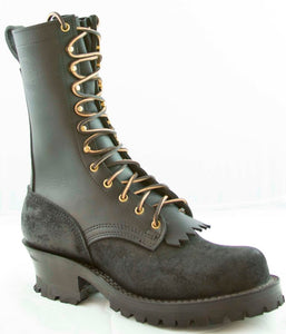 "Type 1 Commander Boots - Black Rough Out (10"" Upper), Frank's"