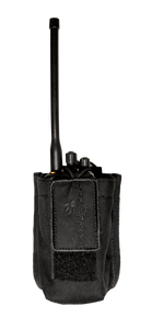 Large radio holster with molle attachment