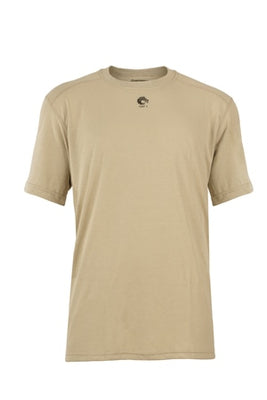 Pro Dry Short Sleeve Shirt (Tan), DragonWear