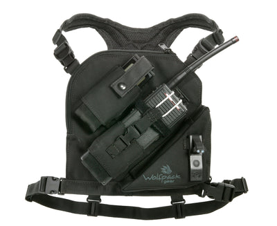 wolfpack's single radio chest harness for wildland fire